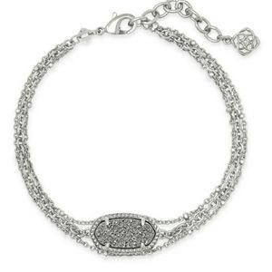 NWT Kendra Scott Elaina Multi-Strand Bracelet